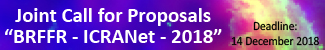 Joint Call for Proposals BRFFR - ICRANet - 2018