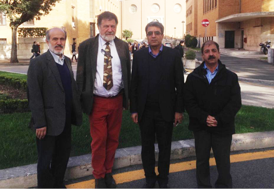 Visit of Iranian deputy minister of research to ICRANet 1